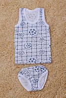 Комплект майка+ трусики для мальчика (разные рисунки), фото 1