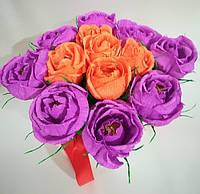Букет из конфет Розы \ Bkm - 007