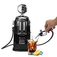 Автозаправочная колонка, заправка для напитков, диспенсер для напитков, с двумя кранами