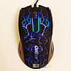 Игровая мышь OIE V19 Lightning, с подсветкой, 1000 dpi, длина кабеля 1.2m, Black, USB, мышка, фото 4