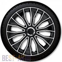 Колпаки для колес Voltec Pro Black White R16 (Комплект 4 шт.)