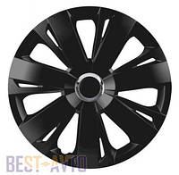 Колпаки для колес Energy RC black R16 (Комплект 4 шт.)