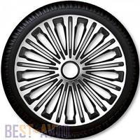 Колпаки для колес Volante Silver Black R17 (Комплект 4 шт.)