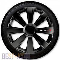 Колпаки для колес RS-T Black R13 (Комплект 4 шт.)