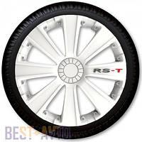 Колпаки для колес RS-T White R13 (Комплект 4 шт.)