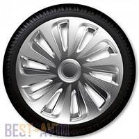 Колпаки для колес Caliber carbon R14 (Комплект 4 шт.)