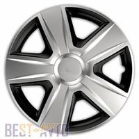 Колпаки для колес Esprit RC silver&black R14 (Комплект 4 шт.)