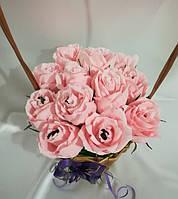 Букет из конфет Розы \ Bkm - 015
