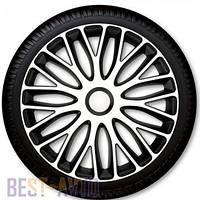 Колпаки для колес Mugello White Black R14 (Комплект 4 шт.)