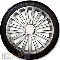 Колпаки для колес Radical Pro Silver R14 (Комплект 4 шт.)