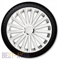 Колпаки для колес Radical Pro White R14 (Комплект 4 шт.)