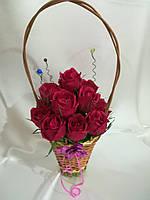 Букет из конфет Розы \ Bkm - 017