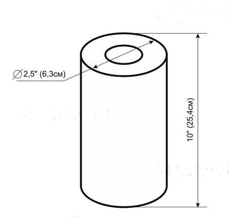 Картридж полипропиленовый PP-10H (10 микрон) НА ГОРЯЧУЮ ВОДУ, фото 2