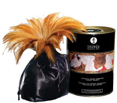 Пудра для тела Shunga Sensual Body Powder Honey of The Nymphs - мед