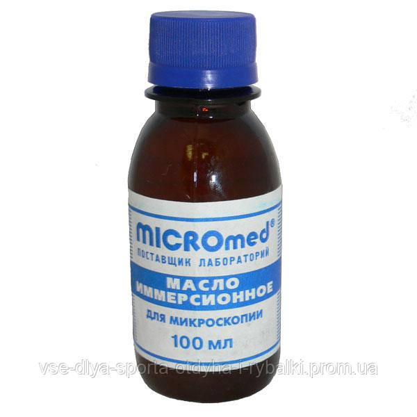 Масло иммерсионное для микроскопии 100 мл