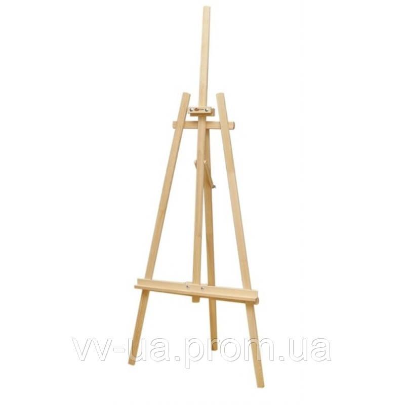 Мольберт стационарный ROSA Studio №41 А, Лира, сосна, 71*80*170см., макс высота полотна 124см.