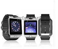 Cмарт часы с Bluetooth, камерой, разъемом под сим карту и SD карту DZ09