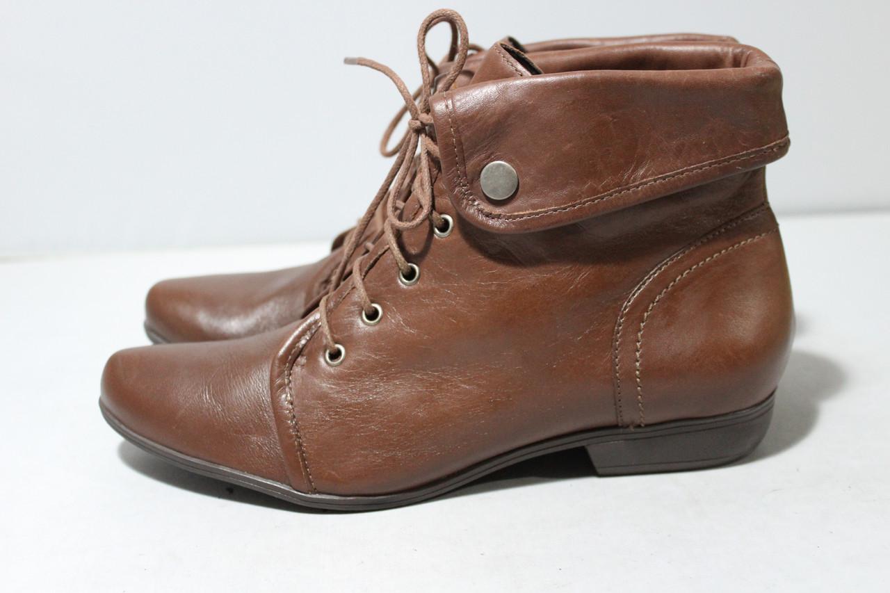 Женские кожаные ботинки San Marina
