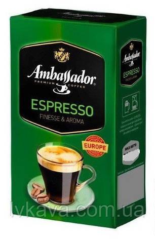 Кофе молотый Ambassador Espresso, 450 гр, фото 2
