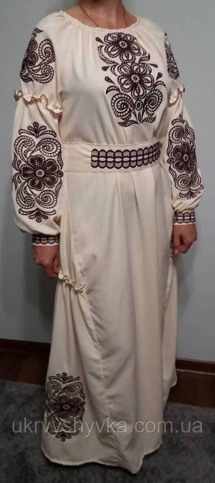 плаття вишиванка рішельє