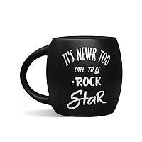Чашка Orner Rock Star, 450 мл, черная