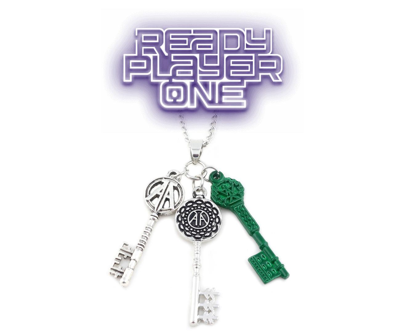 Кулон ключи первому игроку приготовиться Ready player one
