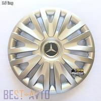 412 Колпаки для колес на Mercedes R16 (Комплект 4 шт.)
