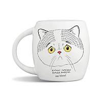 Чашка Orner Сумний кіт (UA), 450 мл