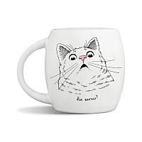 Чашка Orner Удивленный кот, 450 мл
