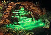 Подсветка герметичная АКВАРИУМА,фонтана и бассейна герметичная в комплекте с блоком питания 20 ламп 16 цветов