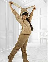 Деткий домашний костюм с ушками для девочки 12-14 лет, фото 1