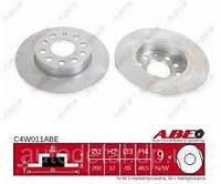 Копия Задний тормозной диск (система TRW) Volkswagen Caddy 2004-2015 ABE C4W011ABE