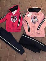 Спортивный костюм для девочек, размеры 3-8 лет