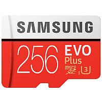 Карта памяти Samsung Micro SD EVO Plus 256GB Micro SDXC UHS-I Card - 100MB/s U1 A1 - MB-MC256G/CN