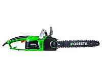Цепная электропила «Foresta», прямой двигатель, 2,6 кВт