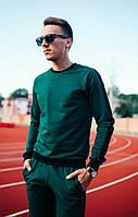 Мужской молодежный спортивный костюм с полосами., фото 1