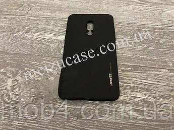 TPU чехол Smitt накладка на бампер для Meizu (Мейзу) 15 Plus (чорний)