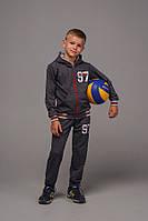 Детский спортивный костюм из двунити с принтом
