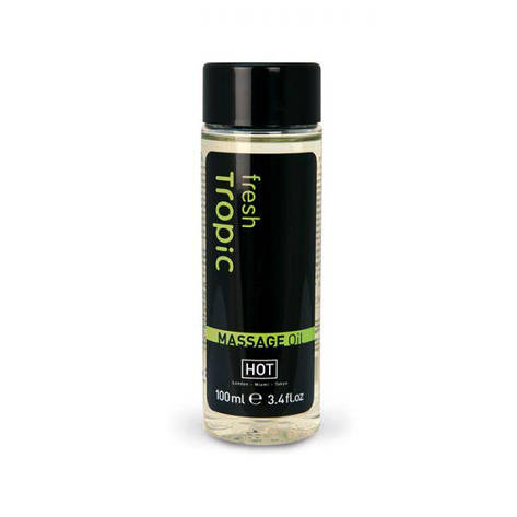 Массажное масло Hot Fresh Tropic Massage Oil, 100 мл, фото 2