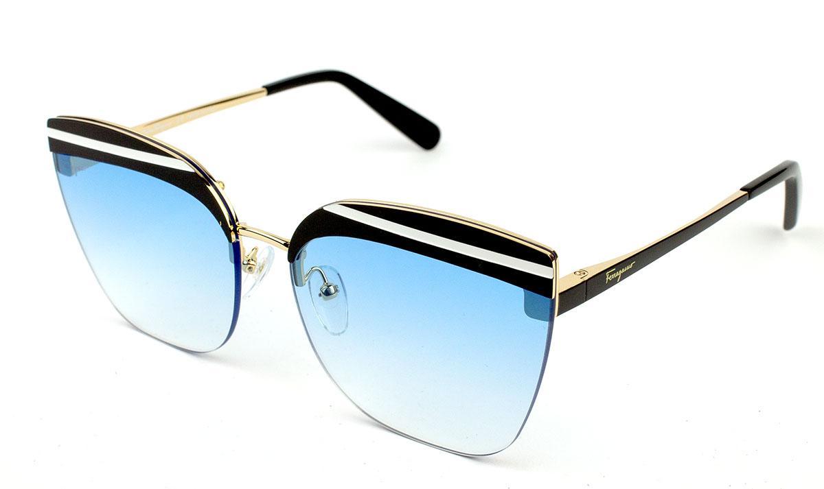 5c7e4b47d50f Солнцезащитные очки Salvatore Ferragamo SF166S 001A - Оптика СRiSTALS в  Харькове