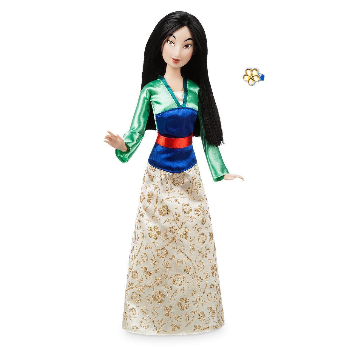 Disney Принцессы Диснея Мулан с кольцом для девочки Mulan Classic Doll with Ring 2018 Version