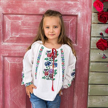 Вышита блуза для девочки Нимфа, фото 2