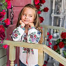 Вышита блуза для девочки Нимфа, фото 3