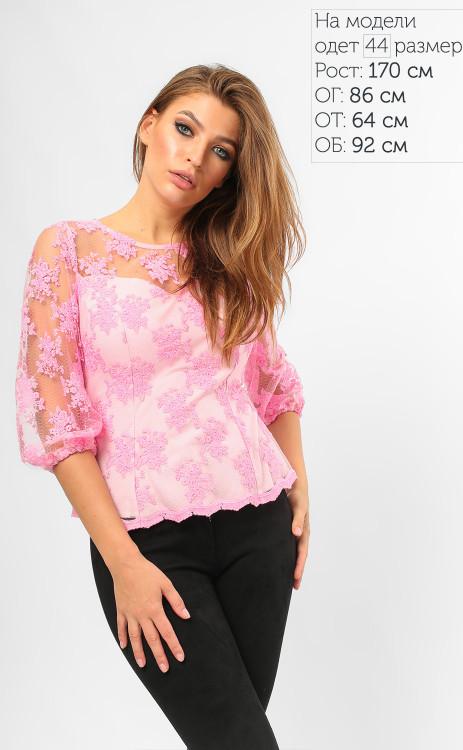 Кружевная элегантная блуза (5 цветов)