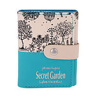 Бесплатная доставка! Кошелек женский Botusi Secret Garden Mini, голубой