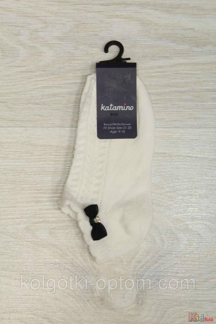 ОПТОМ Носочки с бантиком ажурные для девочки 1-2 года (14 / 1-2 года)  Katamino 8680652225963
