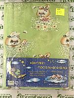 810 Детский комплект постельного в кроватку, бязь ТМ Тиротекс