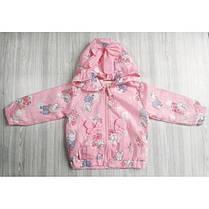 Ветровка детская для девочек розовая свинка Пепа, фото 3