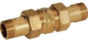 "Редуктор давления ARCO VL030 1"" ( 16/4bar) в комплекте с гайками 3/4, фото 2"