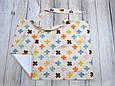 Накидка для кормления + сумочка-чехол, Плюсики, фото 3